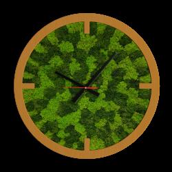 Годинник з мохом дизайнерський А10 / Диаметр 25 см