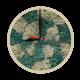 Годинник з мохом дизайнерський А12 / Диаметр 25 см